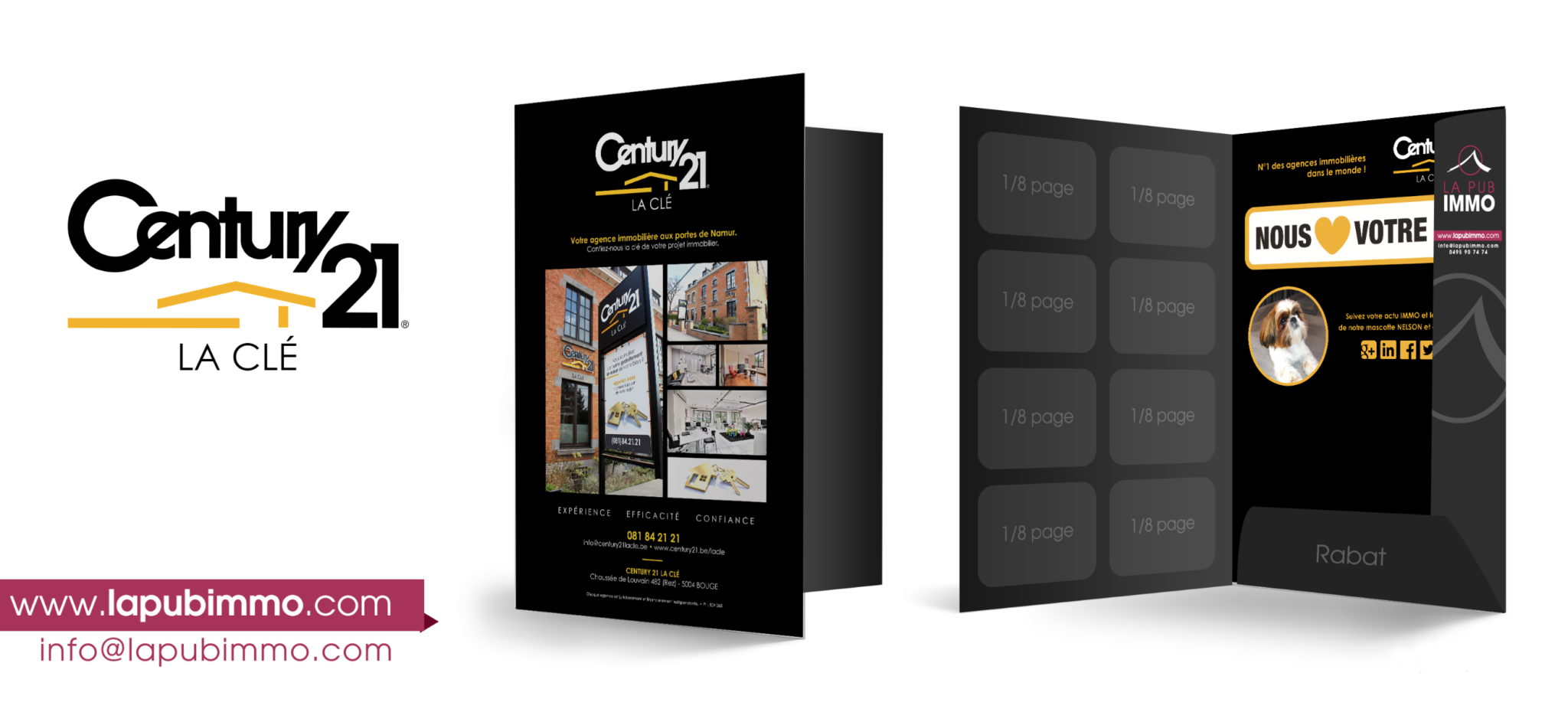 publicit immobili re la pub immo pub immo la pub immo. Black Bedroom Furniture Sets. Home Design Ideas